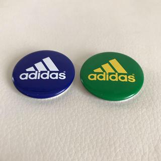 アディダス(adidas)のアディダス缶バッジ(バッジ/ピンバッジ)