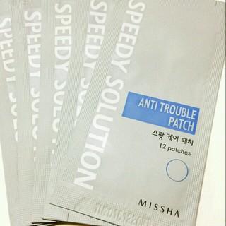 ミシャ(MISSHA)のニキビの絆創膏♥貼るだけ簡単ケア(その他)