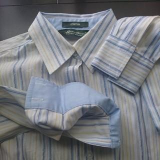 エディーバウアー(Eddie Bauer)のエディー・バウアー ストライプシャツ(シャツ/ブラウス(長袖/七分))