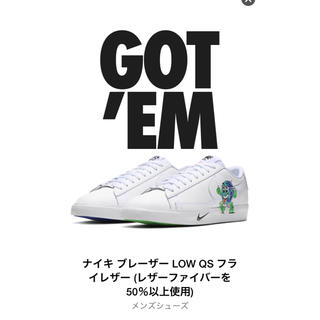 ナイキ(NIKE)のnike blazer low earth day collection27.5(スニーカー)