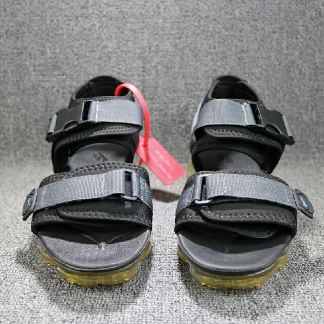 OFF-WHITE(オフホワイト)のOff-White x Nike サンダル メンズ 黒 26  メンズの靴/シューズ(サンダル)の商品写真