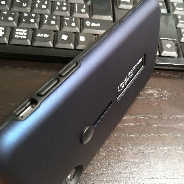 Apple(アップル)のiphonex アイフォンテン スマホ ケース ハード カバー  ブルー スマホ/家電/カメラのスマホアクセサリー(iPhoneケース)の商品写真