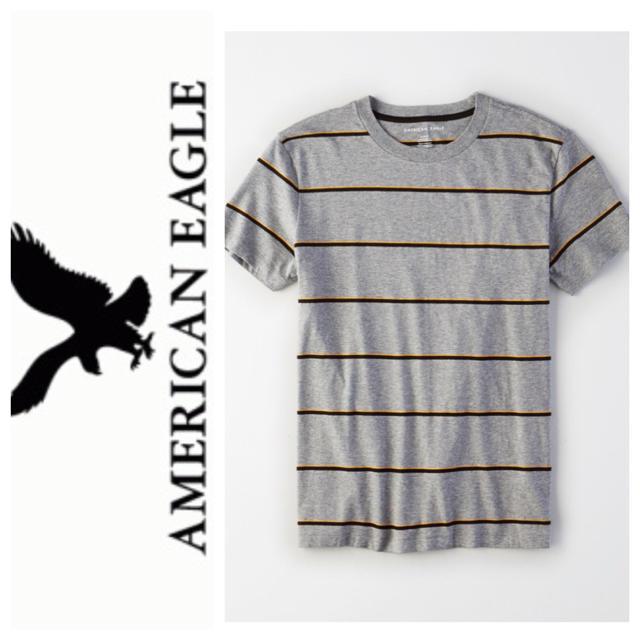 American Eagle(アメリカンイーグル)のXS◎新品正規品◎アメリカンイーグル◎UネックTシャツ◎送料込  メンズのトップス(Tシャツ/カットソー(半袖/袖なし))の商品写真