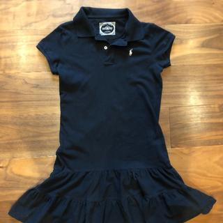 ラルフローレン(Ralph Lauren)のラルフローレン ポロシャツワンピース 150サイズ(ワンピース)