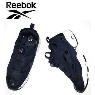リーボック(Reebok)のREEBOKリーボックポンプヒューリーネイビー27.0cm(スニーカー)