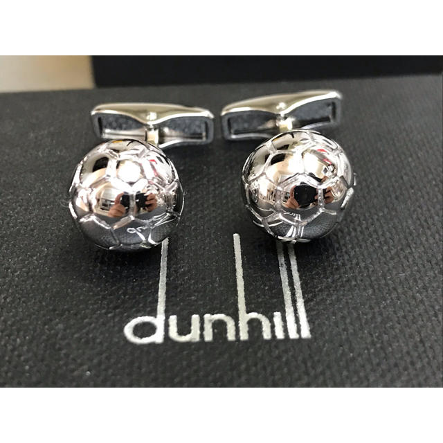 Dunhill(ダンヒル)の新品同様 ダンヒル カフス カフリンクス サッカー メンズのファッション小物(カフリンクス)の商品写真