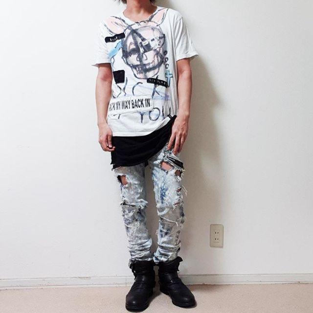 LGB(ルグランブルー)のguernika ゲルニカ ビッグ Tシャツ メンズのトップス(Tシャツ/カットソー(半袖/袖なし))の商品写真
