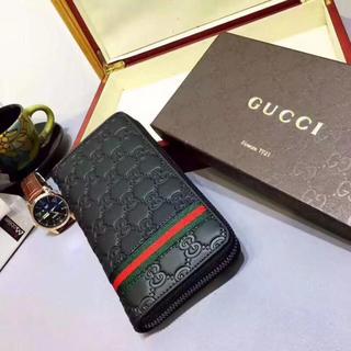 c9fd6ba12627 Gucci - GUCCI グッチ 男性 人気 長財布 プレゼント ブラック 贅沢 激売れ 激安