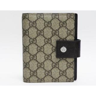 グッチ(Gucci)のGUCCIグッチ 6穴タイプ手帳カバー GG柄 115240 良品 正規品  (手帳)