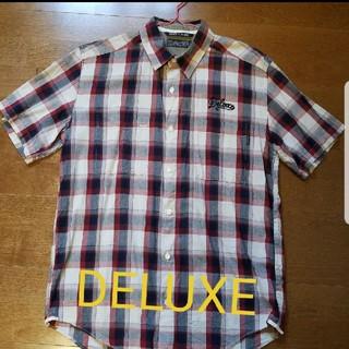 デラックス(DELUXE)のDeluxe   チェック 半袖シャツ(シャツ)