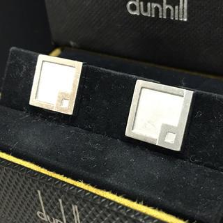 ダンヒル(Dunhill)のダンヒル スクエア SV925 d カフリンクス カフス(カフリンクス)
