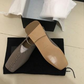 ジルサンダー(Jil Sander)の新品 Jil Sander ジルサンダー バレエシューズ フラットシューズ 37(ローファー/革靴)