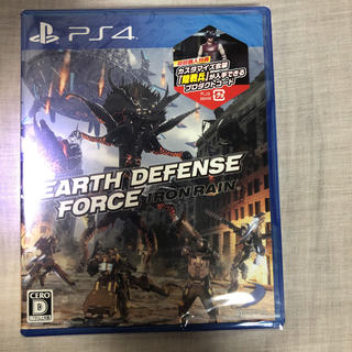 PlayStation4 - EARTH DEFENSE FORCE:IRON RAIN 新品未使用