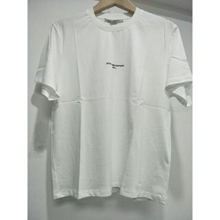 ステラマッカートニー(Stella McCartney)の正規品STELLA MCCARTNEY ホワイト T-シャツ お肌に親しい 新品(Tシャツ/カットソー(半袖/袖なし))