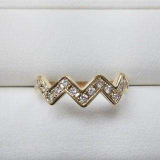 K18 ダイヤリング(リング(指輪))