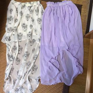 ウィゴー(WEGO)のアシメスカート(ひざ丈スカート)