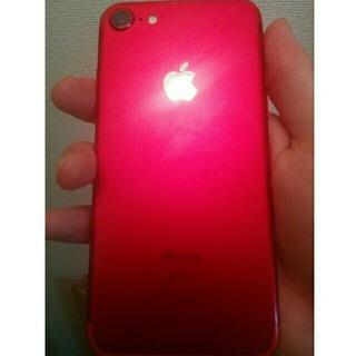 アイフォーン(iPhone)のiphone7 レッド 128gb 売り(携帯電話本体)