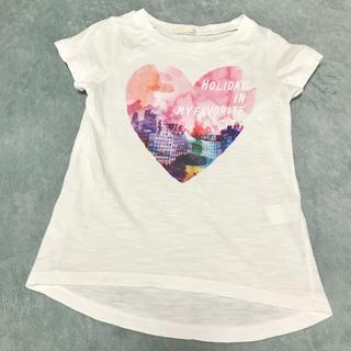 ジーユー(GU)の☆GU KIDS 半袖Tシャツ 白 サイズ110(Tシャツ/カットソー)