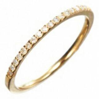 アガット(agete)のアガット  ダイヤ ハーフエタニティ ピンキー リング(リング(指輪))