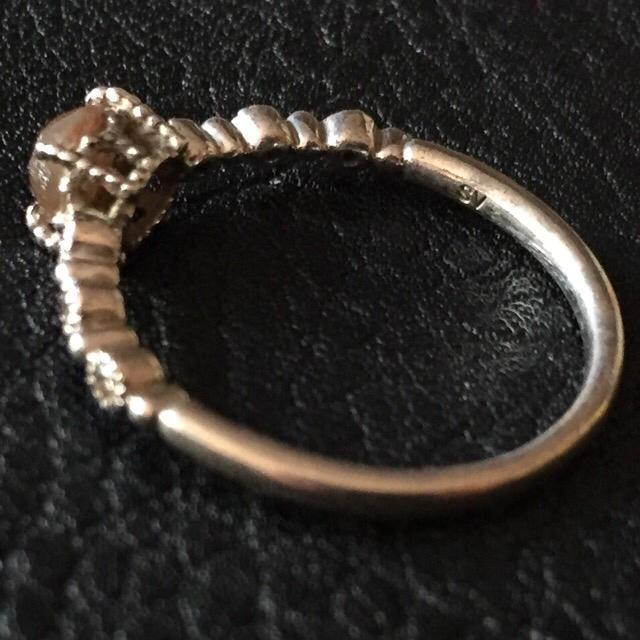 80'sUSA!サフィリーン!0.4ct×Silver!リング レディースのアクセサリー(リング(指輪))の商品写真