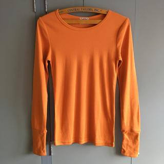 キューブシュガー(CUBE SUGAR)のCube sugar  フライスカラーTシャツ(Tシャツ(長袖/七分))