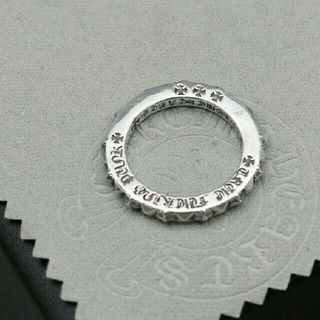 クロムハーツ(Chrome Hearts)のChrome Heartクロムハーツ 美品 男女兼用 CH指輪 リング(リング(指輪))