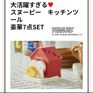 スヌーピー(SNOOPY)のゼクシィ 6月号 スヌーピー 特別付録 キッチンツール(ファッション)