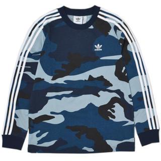 アディダス(adidas)のアディダス オリジナルス 長袖シャツ ロンt Lサイズ(Tシャツ/カットソー(七分/長袖))