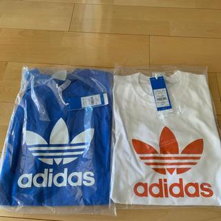 アディダス(adidas)のアディダスオリジナルス tシャツ Mサイズ ペア(Tシャツ/カットソー(半袖/袖なし))