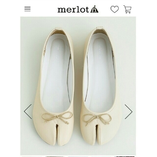 メルロー(merlot)のmelrot 足袋バレエシューズ GW限定価格♡(バレエシューズ)