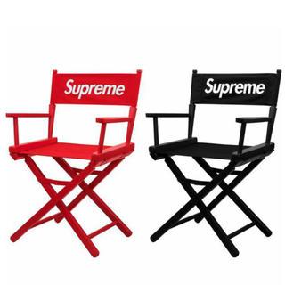 シュプリーム(Supreme)の赤黒セット】Supreme Director's Chair(折り畳みイス)