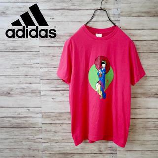 アディダス(adidas)の【レア】Adidas 舞妓デザイン 半袖Tシャツ 和柄 京都(Tシャツ/カットソー(半袖/袖なし))