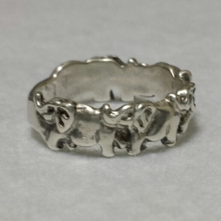 最終値下げ!象さんシルバーリング(リング(指輪))