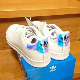 アディダス(adidas)の【限定入荷】お洒落カラー オーロラ スタンスミスJ STAN SMITH J(スニーカー)