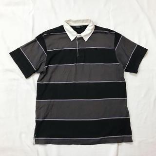 ディスカス(DISCUS)のレトロなDISCUSのボーダーポロシャツ(ポロシャツ)