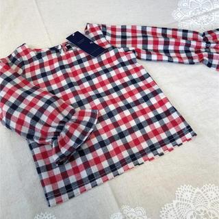 セブンデイズサンデイ(SEVENDAYS=SUNDAY)の長袖 チェック柄トップス(Tシャツ/カットソー)