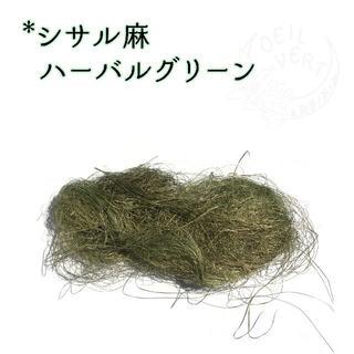 シサル麻 ハーバルグリーン 4g(ドライフラワー)