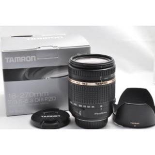 タムロン(TAMRON)の最終値下げ✨新品✨希少!タムロンSONY用 AF18-270mm PZD(レンズ(ズーム))