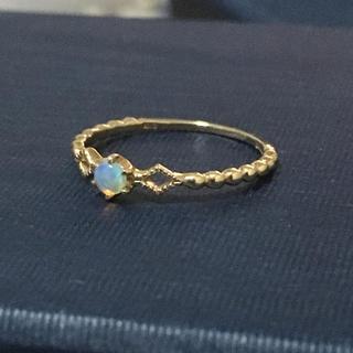 エテ(ete)のjouete  K10オパールリング(リング(指輪))