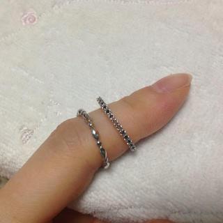 maaaaa様 専用❤︎ シルバー 指輪(リング(指輪))