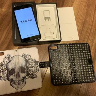 アイフォーン(iPhone)の【豪華セット:美品】iPhone7plus 128G :バッテリー最大容量93%(スマートフォン本体)