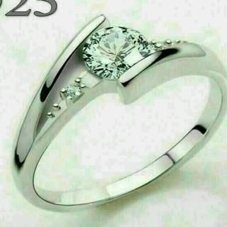 ☞【12号】★リング☆Czダイヤ銀925(リング(指輪))