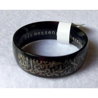 アラビア語イスラム リング 27 新品タグ付(リング(指輪))