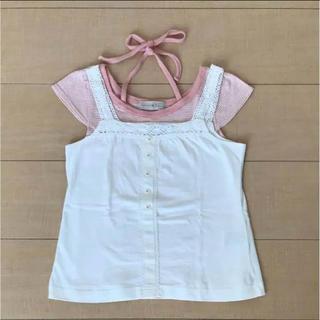 シマムラ(しまむら)のしまむら Tシャツ キャミソール セット 120(Tシャツ/カットソー)
