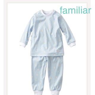familiar - ファミリア パジャマ 長袖 90