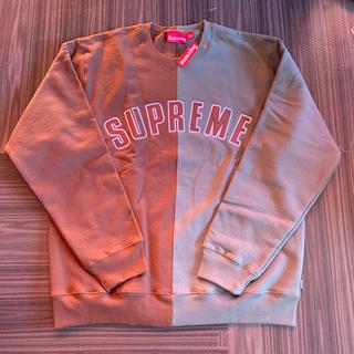 シュプリーム(Supreme)のsupreme Split Crewneck Sweatshirt L 新品(スウェット)