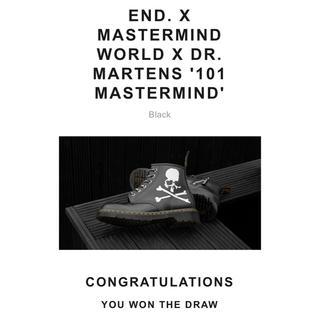 マスターマインドジャパン(mastermind JAPAN)の【27cm】END.MASTERMIND DR. MARTENS(ブーツ)