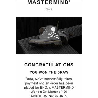 マスターマインドジャパン(mastermind JAPAN)のEND. X MASTERMIND WORLD X DR. MARTENS 26(ブーツ)