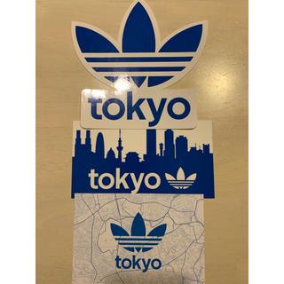 アディダス(adidas)のアディダス オリジナルス ステッカー カード 3枚セット(ノベルティグッズ)