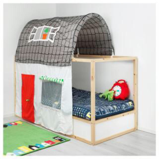 イケア(IKEA)のIKEA  ベッドテント KURA(ベビーベッド)